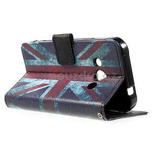 Štýlové peňaženkové puzdro pre Samsung Galaxy Xcover 3 - UK vlajka - 6