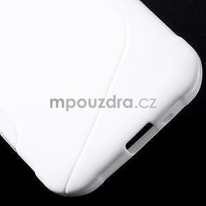 S-line gélový obal pre Samsung Galaxy Xcover 3 - biely - 6