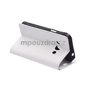 Biele koženkové puzdro Samsung Galaxy Xcover 3 - 6