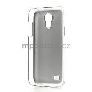Metalický obal pre Samsung Galaxy S4 mini - fialový - 6