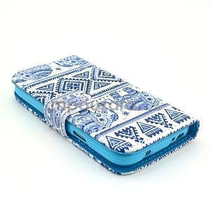 Peněženkové pouzdro na Samsung Galaxy S4 mini - sloni - 6