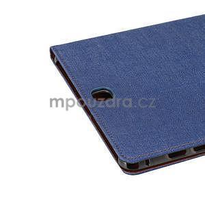 Jeans puzdro pre tablet Samsung Galaxy Tab A 9.7 - modré - 6