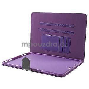 Flatense štýlové puzdro pre Samsung Galaxy Tab S2 9.7 - fialové - 6