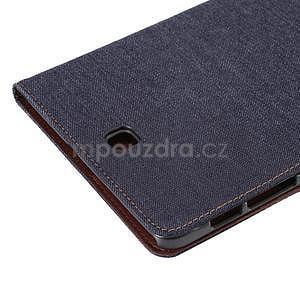 Jeans puzdro na tablet Samsung Galaxy Tab S2 9.7 - čiernomodré - 6