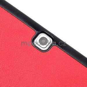 Trifold polohovateľné púzdro pre Samsung Galaxy Tab S2 9.7 -  červené - 6