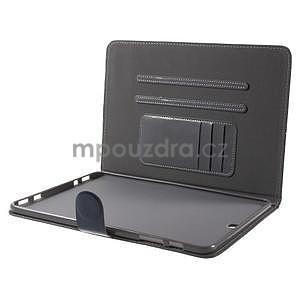 Flatense štýlové puzdro pre Samsung Galaxy Tab S2 9.7 - šedé - 6