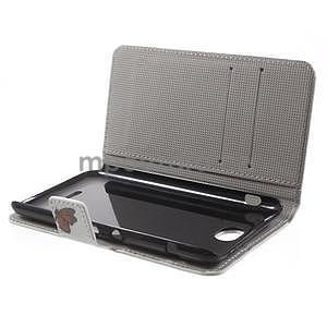 Peňaženkové puzdro pre Sony Xperia E4 - farební motýľe - 6