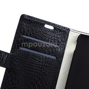 Puzdro s krokodílím vzoromna Sony Xperia E4 - čierne - 6