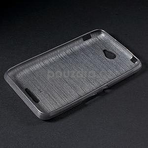 Broušený gelový obal pro Sony Xperia E4 - transparentní - 6