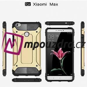 Guard odolný obal pre mobil Xiaomi Mi Max - strieborny - 6