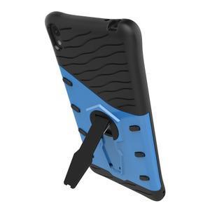 Armory odolný obal so stojanom na Sony Xperia E5 - modrý - 6