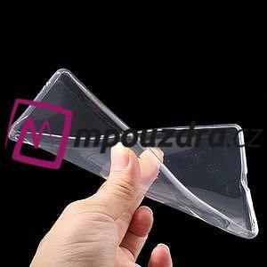Ultratenký gelový obal na mobil Sony Xperia XA Ultra - transparentní - 6