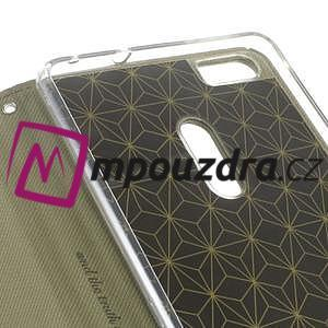 Diary peňaženkové pouzdro na mobil Asus Zenfone 3 Ultra - khaki - 6