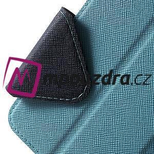 Diary puzdro s okýnkem na mobil Asus Zenfone 3 ZE520KL - světlemodré - 6