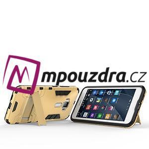 Odolný obal pre mobil Asus Zenfone 3 ZE520KL - zlatý - 6