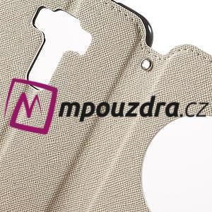 Diary puzdro s okýnkem na mobil Asus Zenfone 3 ZE520KL - biele - 6