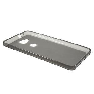 Matný gélový obal pre mobil Honor 5X - šedý - 6