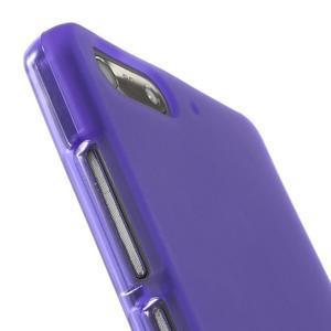 Matné gélové puzdro na Huawei Ascned G6 - fialové - 6