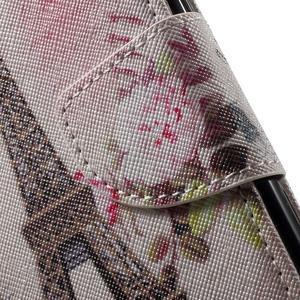 Wall peňaženkové puzdro pre LG K10 - Eiffelova veža - 6
