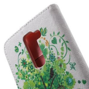 Wall peňaženkové puzdro pre LG K10 - strom - 6