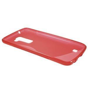 S-line gelový obal na mobil LG K10 - červený - 6