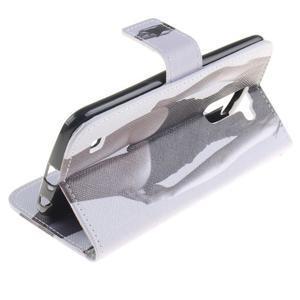 Peňaženkové puzdro pre mobil LG K10 - sexy dívka - 6
