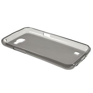 Matný gélový obal pre mobil LG K4 - sivé - 6