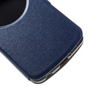 Trend pouzdro s okýnkem na mobil LG K4 - modré - 6