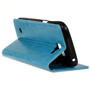 Leat peněženkové pouzdro na LG K4 - modré - 6