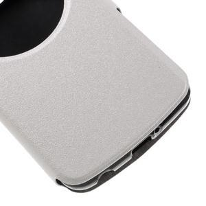 Trend puzdro s okienkom na mobil LG K4 - biele - 6
