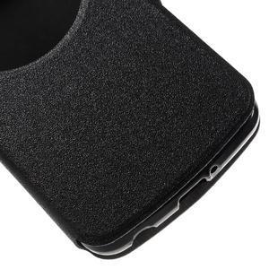 Trend puzdro s okienkom na mobil LG K4 - čierne - 6