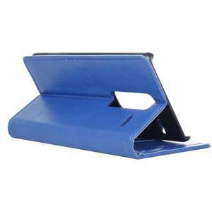 Sitt PU kožené pouzdro na mobil LG Zero - modré - 6