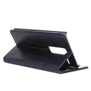 Sitt PU kožené puzdro pre mobil LG Zero - čierne - 6