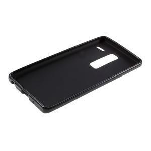 Matný gélový obal pre mobil LG Zero - čierny - 6