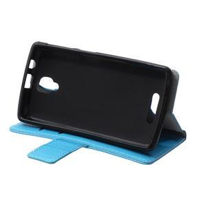Wallet puzdro pre mobil Lenovo A1000 - modré - 6