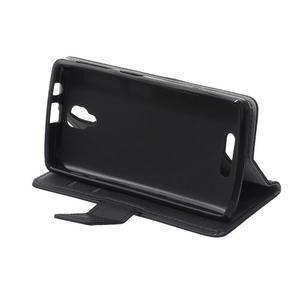 Wallet pouzdro na mobil Lenovo A1000 - černé - 6