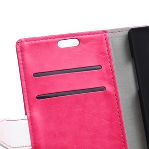 Flag peněnžekové puzdro pre Microsoft Lumia 650 - rose - 6