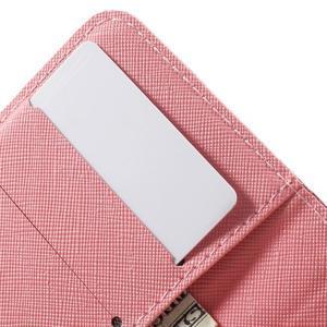 Peňaženkové puzdro na mobil Samsung Galaxy A3 (2016) - kouzelní motýlci - 6