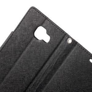 Goospery peňaženkové puzdro na Samsung Galaxy A3 (2016) - čierné - 6