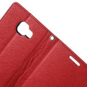 Goospery peňaženkové puzdro na Samsung Galaxy A3 (2016) - červené - 6