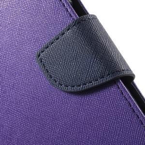 Goospery peňaženkové puzdro pre Samsung Galaxy A3 (2016) - fialové - 6