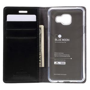 Mercury peňaženkové puzdro pre Samsung Galaxy A3 (2016) - čierné - 6