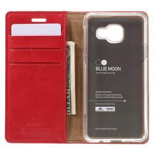 Mercury peňaženkové puzdro pre Samsung Galaxy A3 (2016) - červené - 6