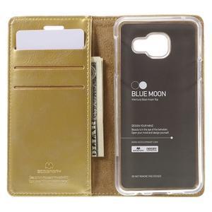 Mercury peňaženkové puzdro pre Samsung Galaxy A3 (2016) - zlaté - 6