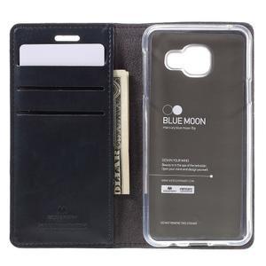 Mercury peňaženkové puzdro na Samsung Galaxy A3 (2016) - tmavo modré - 6