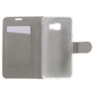 Horse peňaženkové puzdro na Samsung Galaxy A3 (2016) - hnedé - 6