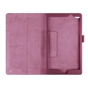 Safe polohovateľné puzdro na tablet Huawei MediaPad M2 8.0 - fialové - 6