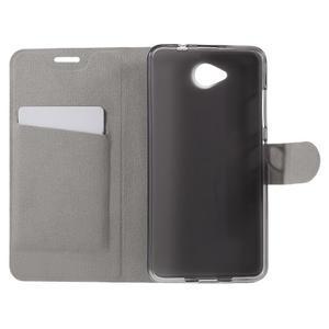 Horse peňaženkové puzdro pre mobil Microsoft Lumia 650 - modré - 6