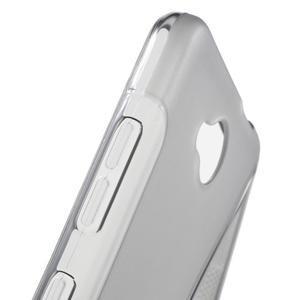 S-line gélový obal na mobil Microsoft Lumia 650 - šedý - 6
