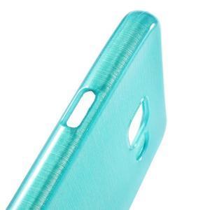Gélový obal s motívom broušení pre Samsung Galaxy A3 (2016) - modrý - 6
